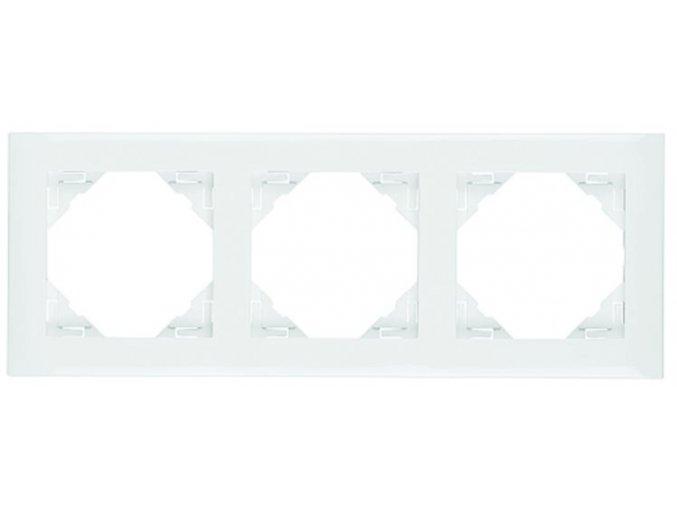 3 - rámček, biela