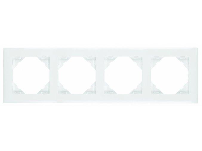 4 - rámček, biela