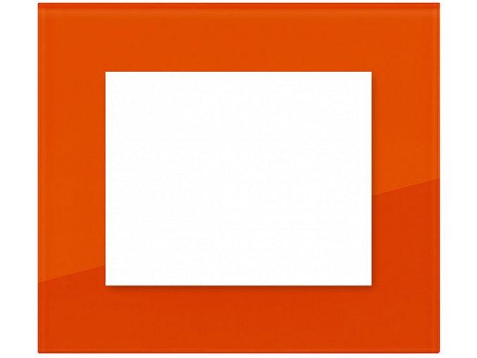 sklo cihlove oranzovy
