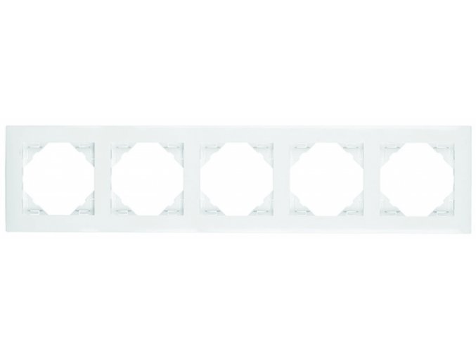 5 - rámček, biela
