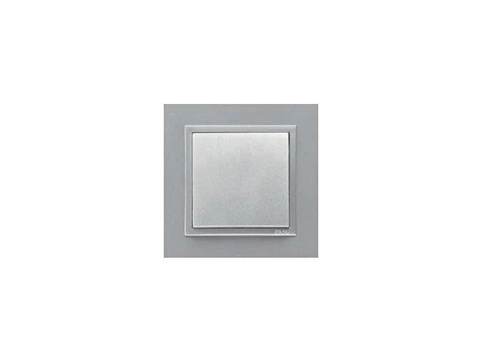 1 - rámček, hliníková/hliníková