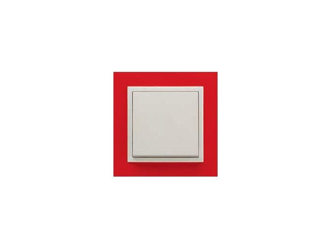 1 - rámček, červená/ľadová
