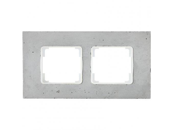 beton dvojnasobny ram decente