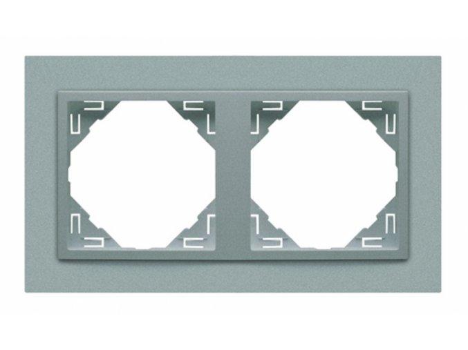 2 - rámček, hliníková/hliníková