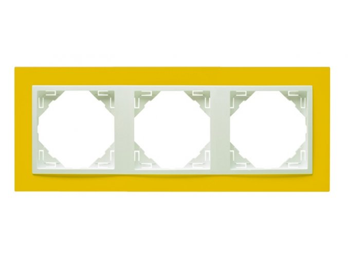 3 - rámček, žltá/ľadová