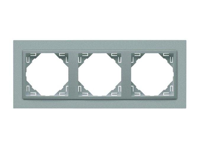 3 - rámček, hliníková/hliníková