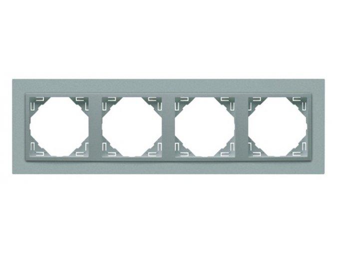 4 - rámček, hliníková/hliníková