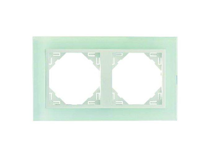2 - rámček, sklo/ľadová