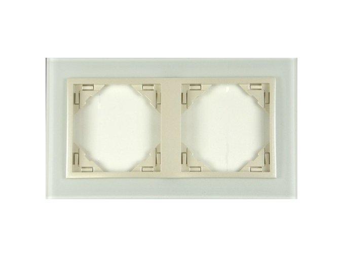 2 - rámček, sklo/perleťová