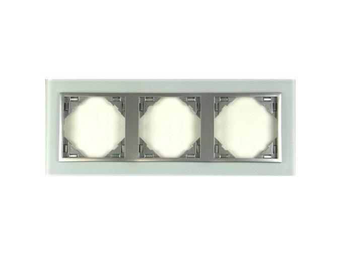 3 - rámček, sklo/hliníková