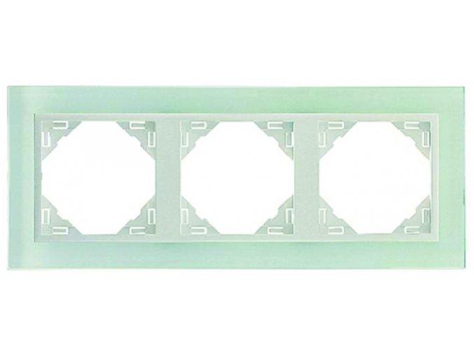 3 - rámček, sklo/ľadová