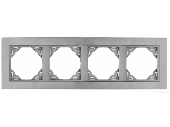 4 -rámček, titán/perleťová