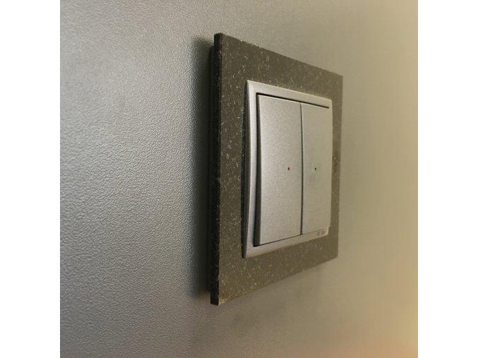 Kryt na 4-tlačidlo - hliníková