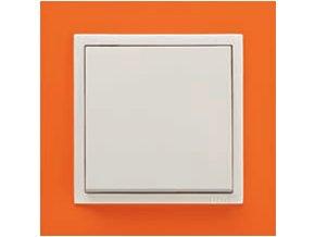 1 - rámček, oranžová/ľadová