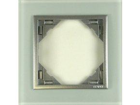 1 - rámček, sklo/hliníková