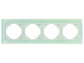 4 - rámček, sklo/ľadová