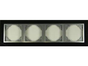 4 - rámček, žula/hliníková