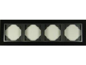 4 - rámček, žula/šedá